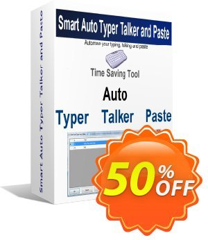 Smart Auto Typer Talker and Paste 프로모션 코드 Coupon code Smart Auto Typer Talker and Paste 프로모션: Smart Auto Typer Talker and Paste Exclusive offer for iVoicesoft