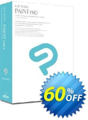 Clip Studio Paint PRO Coupon discount 50% OFF Clip Studio Paint PRO, verified