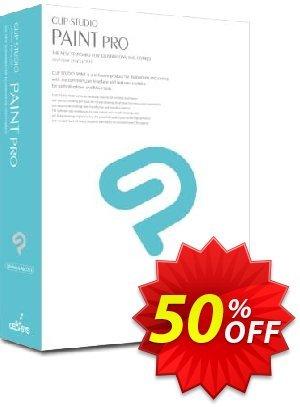 Clip Studio Paint PRO (Français) discount coupon 50% OFF Clip Studio Paint PRO (Fran, verified - Formidable discount code of Clip Studio Paint PRO (Fran, tested & approved