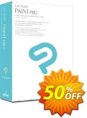 Clip Studio Paint PRO (Español) discount coupon 50% OFF Clip Studio Paint PRO, verified - Formidable discount code of Clip Studio Paint PRO, tested & approved