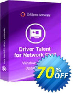 Driver Talent for Network Card Pro (5 PCs / Lifetime) 프로모션 코드 70% OFF Driver Talent for Network Card Pro (5 PCs / Lifetime), verified 프로모션: Big sales code of Driver Talent for Network Card Pro (5 PCs / Lifetime), tested & approved