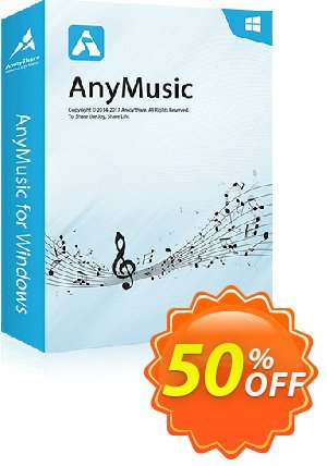AnyMusic Monthly offering sales
