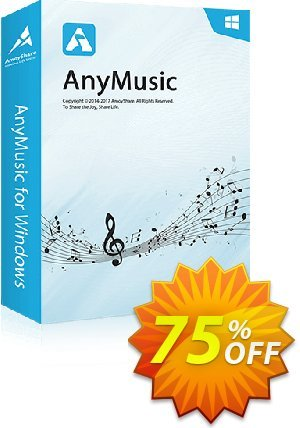 AnyMusic Lifetime (10 PCs) Coupon, discount Coupon code AnyMusic Win Lifetime (10 PCs). Promotion: AnyMusic Win Lifetime (10 PCs) offer from Amoyshare