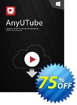 Get AnyUTube Win Lifetime (5 PCs) 50% OFF coupon code