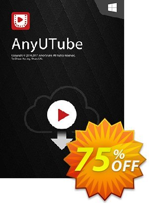 AnyUTube Lifetime (5 PCs) discount coupon Coupon code AnyUTube Win Lifetime (5 PCs) - AnyUTube Win Lifetime (5 PCs) offer from Amoyshare