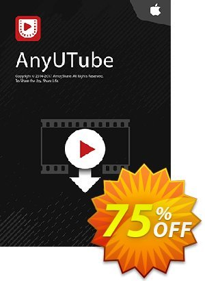 AnyUTube for Mac Lifetime (10 PCs) discount coupon Coupon code AnyUTube Mac Lifetime (10 PCs) - AnyUTube Mac Lifetime (10 PCs) offer from Amoyshare