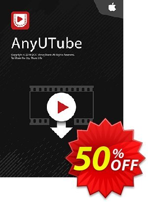 AnyUTube for Mac 6-Month Subscription Coupon, discount Coupon code AnyUTube Mac 6-Month Subscription. Promotion: AnyUTube Mac 6-Month Subscription offer from Amoyshare