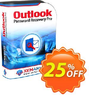XenArmor Outlook Password Recovery Pro Coupon, discount Coupon code XenArmor Outlook Password Recovery Pro Personal Edition. Promotion: XenArmor Outlook Password Recovery Pro Personal Edition offer from XenArmor Security Solutions Pvt Ltd