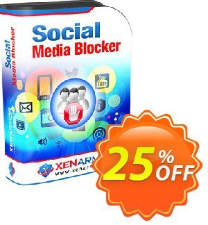 XenArmor Social Media Blocker Coupon, discount Coupon code XenArmor Social Media Blocker Personal Edition. Promotion: XenArmor Social Media Blocker Personal Edition offer from XenArmor Security Solutions Pvt Ltd