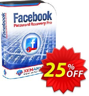 XenArmor Facebook Password Recovery Pro Coupon, discount Coupon code XenArmor Facebook Password Recovery Pro Personal Edition. Promotion: XenArmor Facebook Password Recovery Pro Personal Edition offer from XenArmor Security Solutions Pvt Ltd