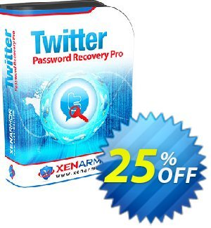 XenArmor Twitter Password Recovery Pro Coupon, discount Coupon code XenArmor Twitter Password Recovery Pro Personal Edition. Promotion: XenArmor Twitter Password Recovery Pro Personal Edition offer from XenArmor Security Solutions Pvt Ltd