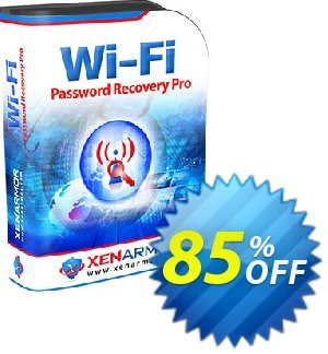 XenArmor WiFi Password Recovery Pro Coupon, discount Coupon code XenArmor WiFi Password Recovery Pro Personal Edition. Promotion: XenArmor WiFi Password Recovery Pro Personal Edition offer from XenArmor Security Solutions Pvt Ltd