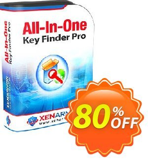 Get XenArmor All-In-One Key Finder Pro 80% OFF coupon code