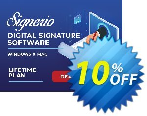 Signerio PREMIUM Coupon, discount Coupon code Signerio - Premium. Promotion: Signerio - Premium offer from SignerIO