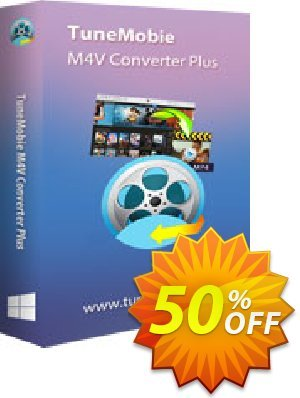 TuneMobie M4V Converter Plus (Family License) Coupon, discount Coupon code TuneMobie M4V Converter Plus (Family License). Promotion: TuneMobie M4V Converter Plus (Family License) Exclusive offer for iVoicesoft