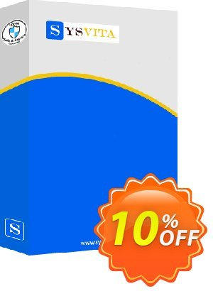 SysVita Outlook PST Recovery : Technician License 프로모션 코드 Promotion code SysVita Outlook PST Recovery : Technician License 프로모션: Offer SysVita Outlook PST Recovery : Technician License special discount for iVoicesoft