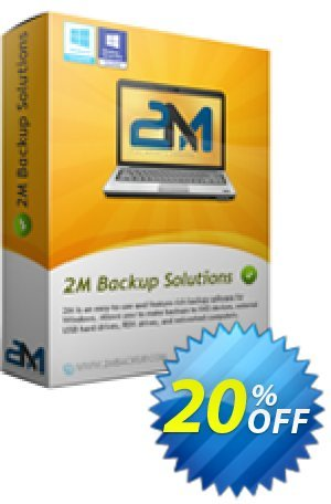 2M Backup Home Edition Coupon, discount 2M Backup Home Edition imposing discounts code 2020. Promotion: imposing discounts code of 2M Backup Home Edition 2020