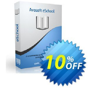 AvoSoft Eschool Coupon, discount Eschool amazing offer code 2021. Promotion: amazing offer code of Eschool 2021