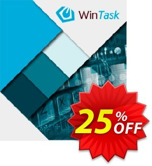 WinTask Pro 優惠券,折扣碼 25%OFF,促銷代碼: Fearsome deals code of WinTask Pro 2020