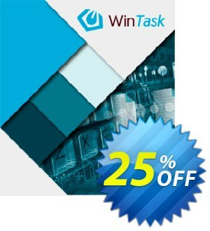 WinTask  Upgrade discount coupon 25%OFF - Staggering promo code of WinTask  Upgrade 2020