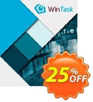WinTask Pro Upgrade Coupon, discount 25%OFF. Promotion: Imposing discounts code of WinTask Pro Upgrade 2021