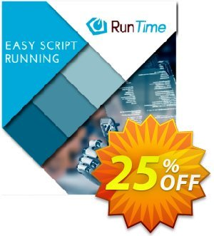 WinTask Runtime Coupon, discount 25%OFF. Promotion: Impressive sales code of Runtime 2021