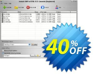 Aostsoft BMP to HTML OCR Converter Coupon, discount Aostsoft BMP to HTML OCR Converter Amazing discounts code 2021. Promotion: Amazing discounts code of Aostsoft BMP to HTML OCR Converter 2021