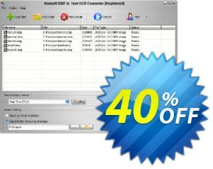 Aostsoft BMP to Text OCR Converter Coupon, discount Aostsoft BMP to Text OCR Converter Staggering sales code 2021. Promotion: Staggering sales code of Aostsoft BMP to Text OCR Converter 2021
