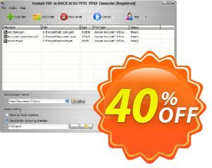 Aostsoft PDF to DOCX XLSX PPTX PPSX Converter Coupon, discount Aostsoft PDF to DOCX XLSX PPTX PPSX Converter Awful offer code 2021. Promotion: Awful offer code of Aostsoft PDF to DOCX XLSX PPTX PPSX Converter 2021