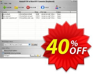 Aostsoft PDF to Word RTF Converter Coupon, discount Aostsoft PDF to Word RTF Converter Wondrous discount code 2021. Promotion: Wondrous discount code of Aostsoft PDF to Word RTF Converter 2021