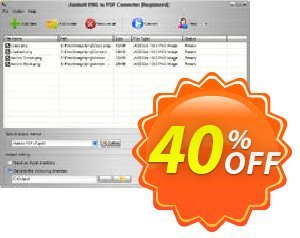 Aostsoft PNG to PDF Converter Coupon, discount Aostsoft PNG to PDF Converter Amazing promotions code 2021. Promotion: Amazing promotions code of Aostsoft PNG to PDF Converter 2021