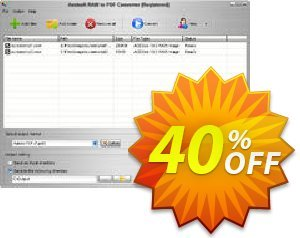 Aostsoft RAW to PDF Converter Coupon, discount Aostsoft RAW to PDF Converter Special promo code 2021. Promotion: Special promo code of Aostsoft RAW to PDF Converter 2021