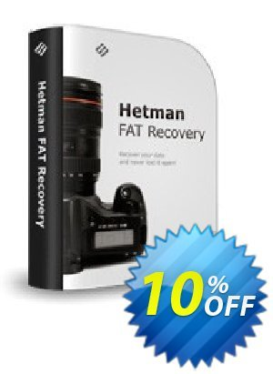 Get Hetman FAT Recovery 10% OFF coupon code