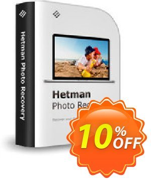 Get Hetman Photo Recovery 10% OFF coupon code