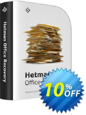 Get Hetman Office Recovery 10% OFF coupon code