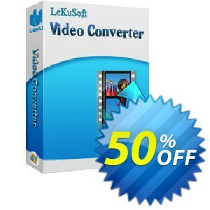 LeKuSoft Video Converter Coupon, discount LeKuSoft Video Converter Excellent promotions code 2020. Promotion: Excellent promotions code of LeKuSoft Video Converter 2020