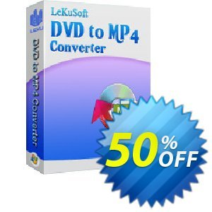 LeKuSoft DVD to MP4 Converter Coupon, discount LeKuSoft DVD to MP4 Converter Staggering offer code 2020. Promotion: Staggering offer code of LeKuSoft DVD to MP4 Converter 2020