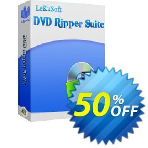 LeKuSoft DVD Ripper Suite Coupon, discount LeKuSoft DVD Ripper Suite Dreaded deals code 2020. Promotion: Dreaded deals code of LeKuSoft DVD Ripper Suite 2020