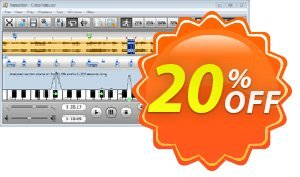 Transcribe! for Windows Coupon, discount Transcribe! for Windows Wonderful deals code 2020. Promotion: Wonderful deals code of Transcribe! for Windows 2020