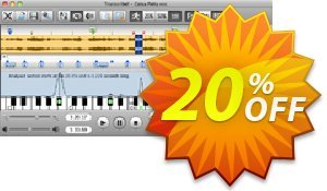 Transcribe! for Mac discount coupon Transcribe! for Mac Special discount code 2020 - Special discount code of Transcribe! for Mac 2020