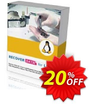 Recover Data for Linux (Windows OS) - Corporate License discount coupon Recover Data for Linux (Windows OS) - Corporate License Excellent promo code 2020 - Excellent promo code of Recover Data for Linux (Windows OS) - Corporate License 2020