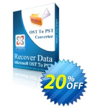 Recover Data for MS Exchange OST to MS Outlook PST - Corporate License discount coupon Recover Data for MS Exchange OST to MS Outlook PST - Corporate License Awesome offer code 2020 - Awesome offer code of Recover Data for MS Exchange OST to MS Outlook PST - Corporate License 2020