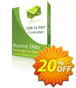 Recover Data for Exchange EDB to Outlook PST - Corporate License割引コード・Recover Data for Exchange EDB to Outlook PST - Corporate License Dreaded discount code 2020 キャンペーン:Dreaded discount code of Recover Data for Exchange EDB to Outlook PST - Corporate License 2020