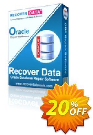 Recover Data for Oracle Database - Academic License discount coupon Recover Data for Oracle Database - Academic License Marvelous promo code 2020 - Marvelous promo code of Recover Data for Oracle Database - Academic License 2020