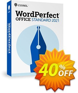 WordPerfect Office Standard 2021 Upgrade 優惠券,折扣碼 25% OFF WordPerfect Office Standard 2021 Upgrade, verified,促銷代碼: Awesome deals code of WordPerfect Office Standard 2021 Upgrade, tested & approved