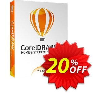 CorelDRAW Home & Student Suite 2020 프로모션 코드 20% OFF CorelDRAW Home & Student Suite 2020 2020 프로모션: Awesome deals code of CorelDRAW Home & Student Suite 2020, tested in {{MONTH}}