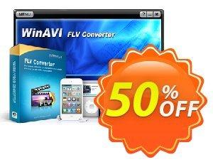 WinAVI FLV Converter Coupon discount WinAVI FLV Converter Dreaded deals code 2020. Promotion: Dreaded deals code of WinAVI FLV Converter 2020