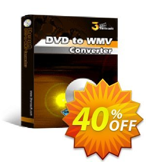 3herosoft DVD to WMV Converter Coupon, discount 3herosoft DVD to WMV Converter Wonderful discounts code 2020. Promotion: Wonderful discounts code of 3herosoft DVD to WMV Converter 2020