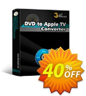 3herosoft DVD to Apple TV Converter discount coupon 3herosoft DVD to Apple TV Converter Stunning sales code 2020 - Stunning sales code of 3herosoft DVD to Apple TV Converter 2020