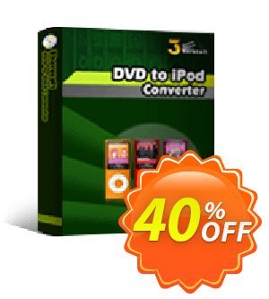 3herosoft DVD to iPod Converter Coupon, discount 3herosoft DVD to iPod Converter Imposing promo code 2020. Promotion: Imposing promo code of 3herosoft DVD to iPod Converter 2020